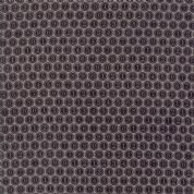 Compositions by Basic Grey - 5265 - Type Keys, Brown & Taupe Geometric  - 30454 19 - Cotton Fabric